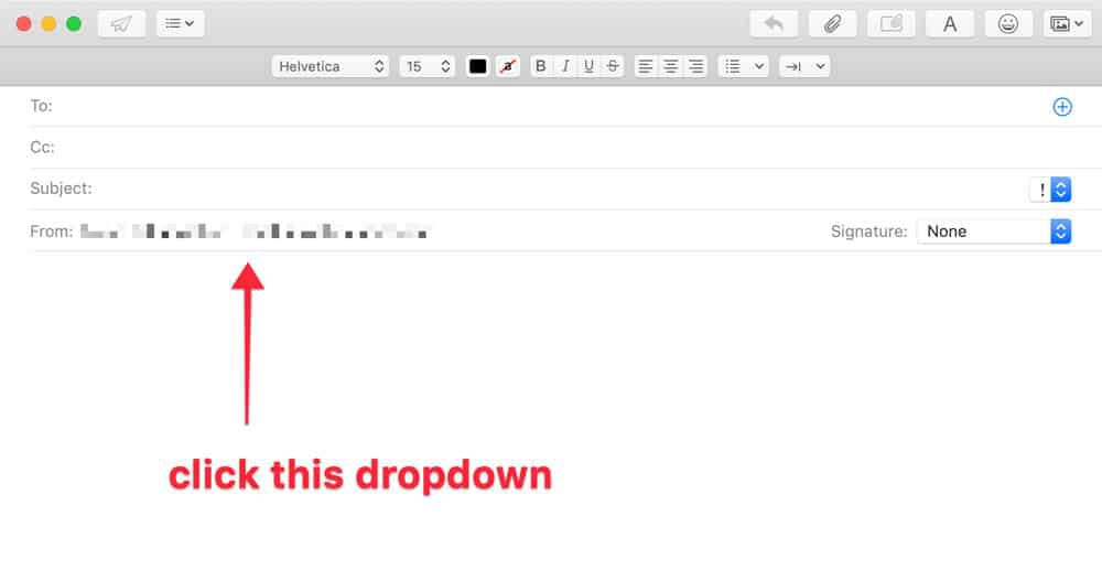 how to set up an email alias in apple mail screenshot 4